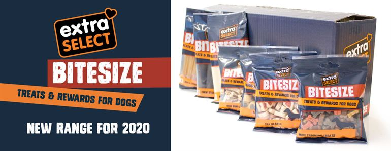 Extra Select Bitesize Dog Treats